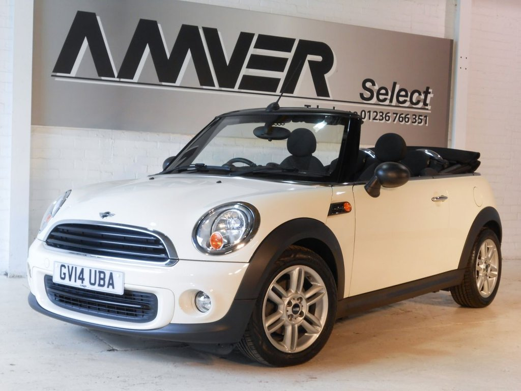 USED 2014 14 MINI CONVERTIBLE 1.6 ONE 2d AUTO 98 BHP