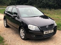 USED 2009 58 VOLKSWAGEN POLO 1.2 MATCH 5d 59 BHP Low Tax, Alloy Wheels, A/C