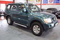 2003 MITSUBISHI SHOGUN 3.2 CLASSIC FIELD LWB DI-D 5d AUTO 159 BHP £2985.00