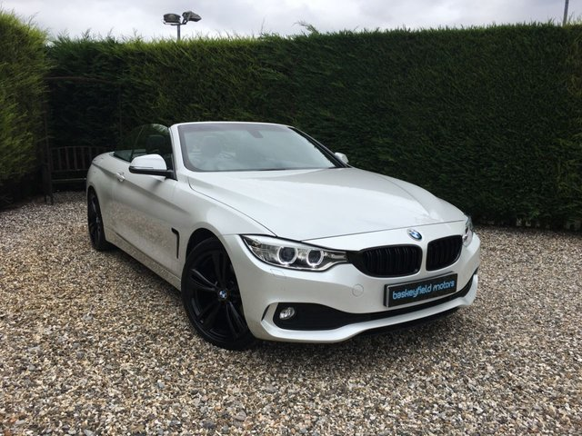 USED 2014 14 BMW 4 SERIES 2.0 420D SE 2d AUTO 181 BHP