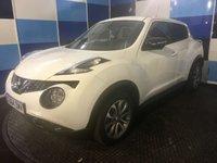 2014 NISSAN JUKE 1.6 TEKNA XTRONIC 5d AUTO 117 BHP £10775.00