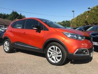2015 RENAULT CAPTUR 0.9 DYNAMIQUE MEDIANAV ENERGY TCE S/S 5d SAT NAV AND LOW ROAD TAX £9000.00