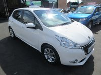 USED 2013 63 PEUGEOT 208 1.2 ACTIVE 5d 82 BHP BUY NOW PAY NEXT YEAR...NO DEPOSIT DEALS
