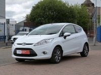 USED 2011 11 FORD FIESTA 1.2 ZETEC 3d BLUETOOTH ~ AIR CON ~ ALLOYS ~ PRIVACY GLASS ~ SERVICE HISTORY