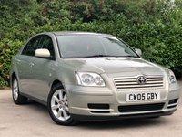 2005 TOYOTA AVENSIS 1.8 T3-S VVT-I 5d 127 BHP £2500.00