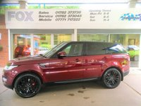 USED 2016 16 LAND ROVER RANGE ROVER SPORT 3.0 SDV6 HSE 5d AUTO 306 BHP LAND ROVER RANGE ROVER SPORT 3.0 SDV6 HSE 5d AUTO 306 BHP