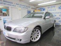 2008 BMW 7 SERIES 4.8 750I SPORT 4d AUTO 363 BHP £6995.00