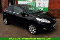 USED 2009 59 FORD FIESTA 1.6 TITANIUM TDCI 5d 89 BHP +LEATHER +TOP SPEC +LOW TAX.