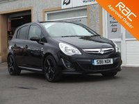 USED 2011 11 VAUXHALL CORSA 1.4 SRI 5d 98 BHP Low Mileage - Air Conditioning  -Aux point
