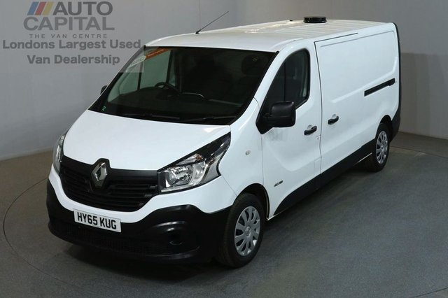 2015 65 RENAULT TRAFIC 1.6 LL29 BUSINESS DCI S/R P/V 5d 115 BHP LWB DIESEL VAN ONE OWNER FROM NEW LOW MILEAGE