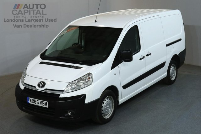 2015 65 TOYOTA PROACE 2.0 HDI 1200 127 BHP L2 H1 LWB LOW ROOF AIR CON