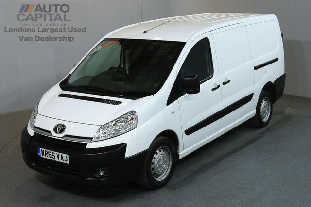 2015 65 TOYOTA PROACE 2.0 HDI 1200 127 BHP L2 H1 LWB LOW ROOF AIR CON  ONE OWNER, AIR CONDITION