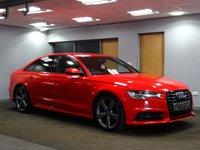 USED 2015 15 AUDI A6 2.0 TDI ULTRA S LINE BLACK EDITION 4d AUTO 188 BHP