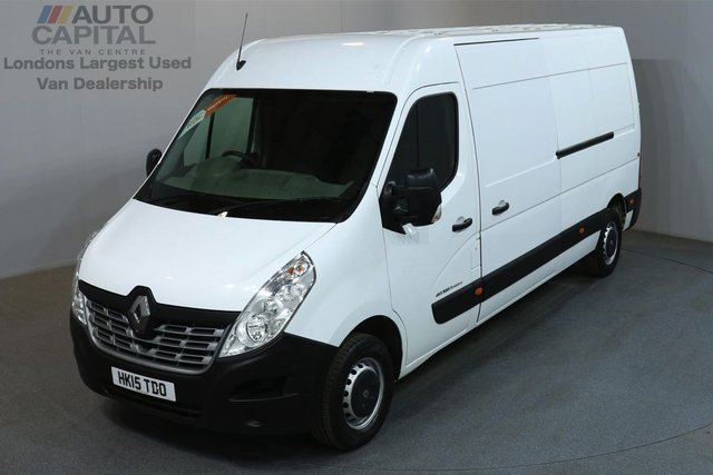 2015 15 RENAULT MASTER 2.3 LM35 BUSINESS 125 BHP L3 H2 LWB MEDIUM ROOF REVERSE CAMERA, PARKING SENSORS