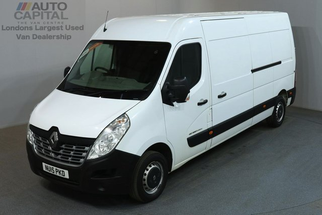 2015 15 RENAULT MASTER 2.3 LM35 BUSINESS 125 BHP L3 H2 LWB MEDIUM ROOF MOT UNTIL 25/05/2019