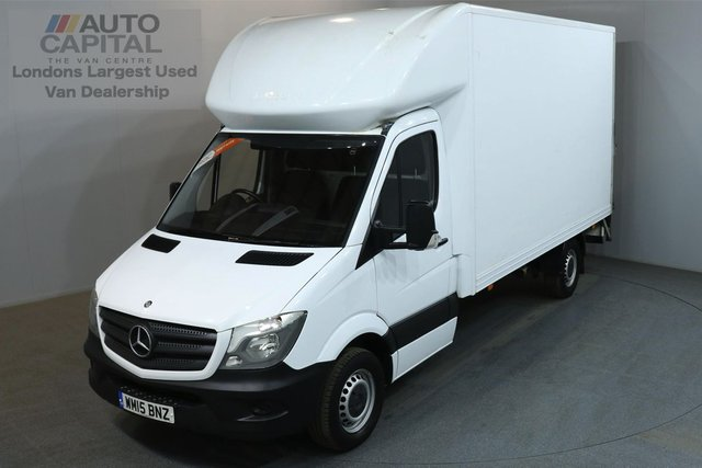 2015 15 MERCEDES-BENZ SPRINTER 2.1 313 CDI 129 BHP LWB  LUTON VAN ONE OWNER, MOT UNTIL 14/07/2019