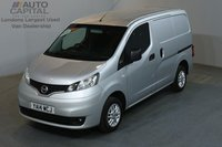 USED 2014 14 NISSAN NV200 1.5 DCI TEKNA 90 BHP SWB AIR CON ONE OWNER, SERVICE HISTORY, AIR CONDITION, REVERSE CAMERA