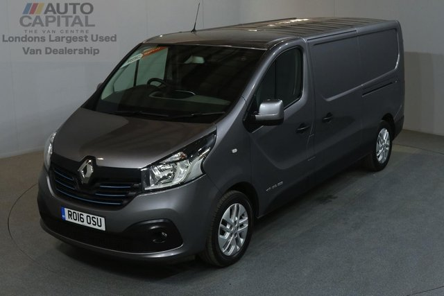 2016 16 RENAULT TRAFIC 1.6 LL29 SPORT 120 BHP L2 H1 LWB LOW ROOF AIR CON SAT NAV AIR CONDITION, NAVIGATION, REVERSE CAMERA, ALLOY WHEEL