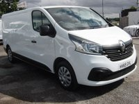2015 RENAULT TRAFIC 1.6 LL29 BUSINESS PLUS DCI S/R P/V 1d 115 BHP SAT NAV A/C £8995.00