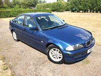 2001 BMW 3 SERIES 1.9 318I SE 4d AUTO 117 BHP SOLD NOW SORRY!!Full Service History, MOT 08/19 £1499.00