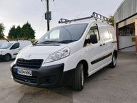 USED 2014 64 PEUGEOT EXPERT 2.0 HDI 1000 L1H1 PROFESSIONAL 1d 128 BHP BLUETOOTH PHONE PREPARATION, DAB RADIO, AIR CONDITIONING