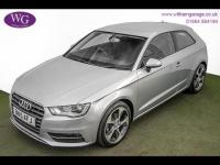 USED 2015 15 AUDI A3  1.6 TDI Sport S Tronic 3dr DAB, BLUETOOTH, 1OWNER