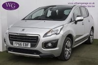 USED 2016 66 PEUGEOT 3008 1.6 BlueHDi Active (s/s) 5dr AIR CON, CRUISE, ALLOYS