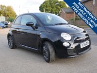 USED 2014 14 FIAT 500 1.2 S 3d 69 BHP DAB RADIO, AIR CONDITIONING, BLUETOOTH PHONE PREPARATION