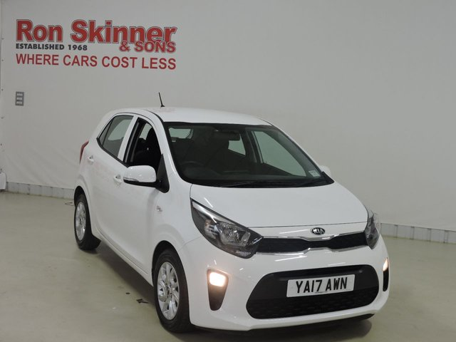 View our 2017 17 KIA PICANTO 1.2 2 5d AUTO 82 BHP