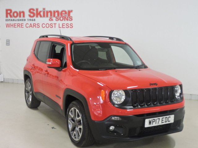 View our 2017 17 JEEP RENEGADE 1.6 M-JET NIGHT EAGLE II 5d 118 BHP