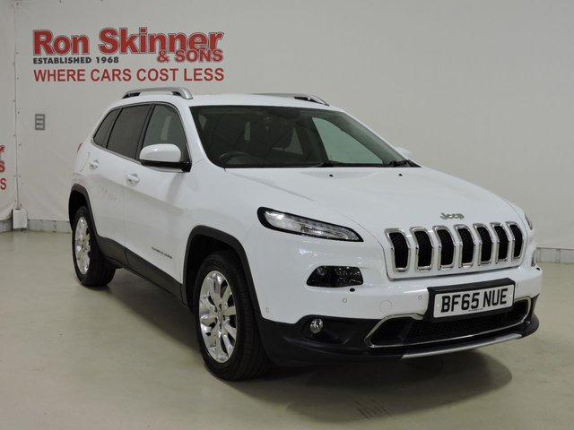 View our 2015 65 JEEP CHEROKEE 2.0 M-JET LIMITED 5d 138 BHP