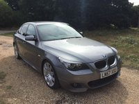 USED 2007 57 BMW 5 SERIES 3.0 535D M SPORT 4d AUTO 282 BHP Low Mileage, Automatic, S/H