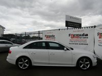 USED 2012 12 AUDI A4 2.0 TDI S line 4dr 2 OWNERS+HALF LEATHER TRIM