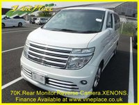 USED 2002 52 NISSAN ELGRAND Nissan Elgrand Rider 3.5 Auto 8 Seats +71K+POWER DOOR+REV CAMERA+