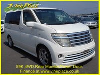 USED 2003 53 NISSAN ELGRAND Nissan Elgrand Rider 3.5 4WD Auto 8 Seats +59K+4 WHEEL DRIVE+POWER DOOR+