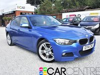 USED 2014 14 BMW 3 SERIES 2.0 320D M SPORT 4d AUTO 181 BHP 1  PREVIOUS OWNER + FULL SERVICE HISTORY