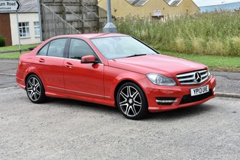 2013 MERCEDES-BENZ C CLASS 2.1 C250 CDI BLUEEFFICIENCY AMG SPORT PLUS 4d AUTO 202 BHP £SOLD