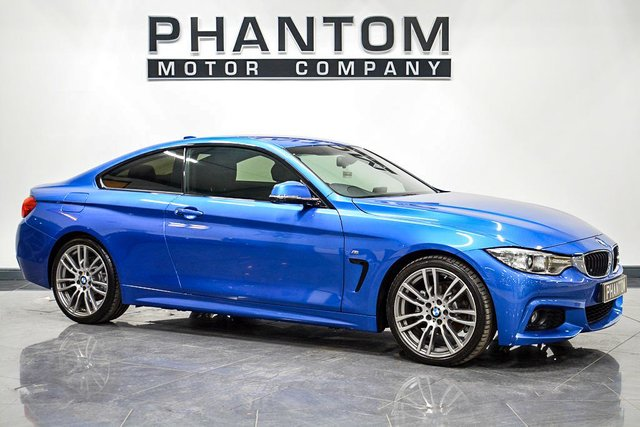 USED 2015 65 BMW 4 SERIES 2.0 420I M SPORT 2d 181 BHP