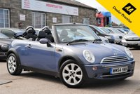 USED 2004 54 MINI CONVERTIBLE 1.6 COOPER 2d 114 BHP