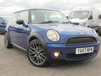 USED 2007 57 MINI HATCH ONE 1.4 ONE 3d 94 BHP 12 MONTHS MOT,FULL SERVICE HISTORY