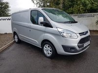 2015 FORD TRANSIT CUSTOM 290 2.2 LIMITED L1 H1 155 BHP **70 VANS IN STOCK** £12350.00