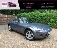 USED 2007 57 MAZDA MX-5 1.8 I ROADSTER 2d 125 BHP ONLY 2 OWNERS SERVICE HISTORY FULL HEATED LEATHERINTERIOR HARDTOP