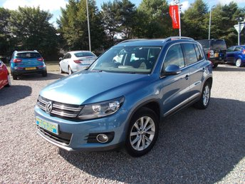 2012 VOLKSWAGEN TIGUAN 2.0 SE TDI BLUEMOTION TECHNOLOGY 4MOTION 5d 138 BHP £10495.00