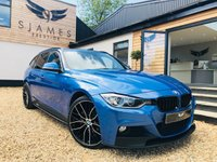 2015 BMW 3 SERIES 3.0 330D XDRIVE M SPORT TOURING 5d AUTO 255 BHP £20590.00