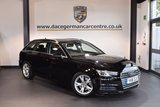 USED 2016 16 AUDI A4 AVANT 2.0 AVANT TDI ULTRA SPORT 5DR 148 BHP + FULL AUDI SERVICE HISTORY + 1 OWNER FROM NEW + SATELLITE NAVIGATION + BLUETOOTH + SPORT SEATS + CRUISE CONTROL + PARKING SENSORS + 17 INCH ALLOY WHEELS +