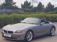 2005 BMW Z4 2.0 Z4 SE ROADSTER 2d 148 BHP £3695.00