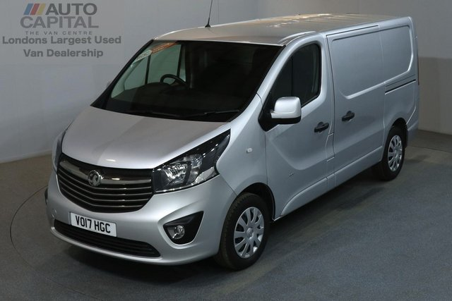 2017 17 VAUXHALL VIVARO 1.6 2900 SPORTIVE 120 BHP L1 H1 SWB LOW ROOF AIR CON E6 EURO 6, MANUFACTURER WARRANTY UNTIL 17/05/2020, ONE OWNER FROM NEW, SERVICE HISTORY