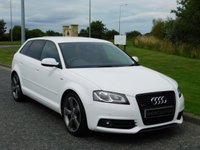2011 AUDI A3 2.0 SPORTBACK TDI S LINE SPECIAL EDITION 5d AUTO 138 BHP £9990.00