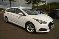 USED 2015 15 HYUNDAI I40 1.7 CRDI S BLUE DRIVE 5d 139 BHP ONE OWNER, FULL SERVICE HISTORY, BLUETOOTH, ALLOYS, AIR CON
