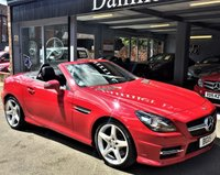 2015 MERCEDES-BENZ SLK 1.8 SLK200 BLUEEFFICIENCY AMG SPORT 2d 184 BHP £15995.00